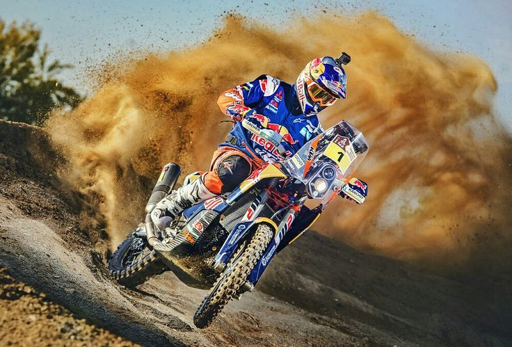 """Australian Toby Price, winner of the 2016 Dakar Rally, said he was """"really excited and stoked to be staying with the Red Bull KTM Factory Racing Team"""" for Dakar 2017."""