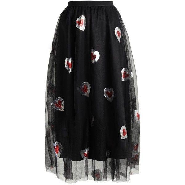 Navy London FILIPPA Maxi skirt (1,850 MXN) ❤ liked on Polyvore featuring skirts, long skirts, navy long skirt, navy skirt, maxi skirts and floor length skirt