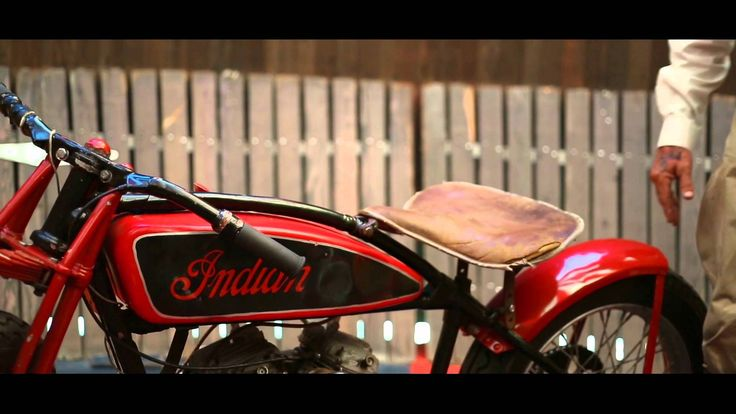 "2015 Scout ""Wall of Death"" Indian Motorcycle"