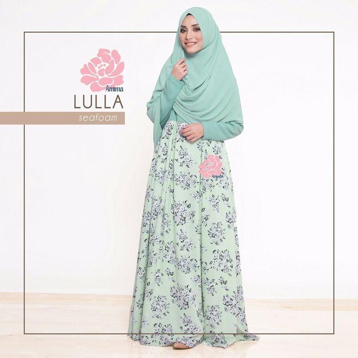 Gamis Amima Lulla Dress Seafoam - baju muslim wanita baju muslimah Untukmu yg cantik syari dan trendy . . Size: XS ---> LD 92 P 135 S ---> LD 96 P 137 M ---> LD 100 P 139 L ---> LD 104 P 141 XL ----> LD 112 P 144 . . - Material bahan : crystal crepe hq printing for amima (dengan furing katun arrow lembut) crepe polos Nyaman digunakan seharian bahannya jatuh dan flowy - Dress yang simpel cocok untuk daily - acara formal potongan bawah dada dengan warna soft pastel - Bagian badan dress polos…
