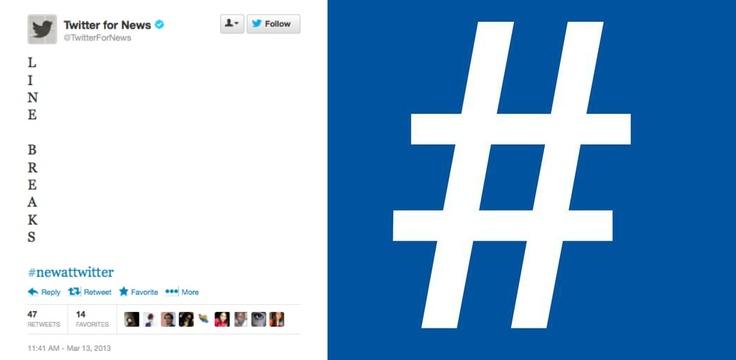 Jak myślicie, co będzie bardziej przydatne – hashtagi na Facebooku czy pionowe posty na Twitterze?