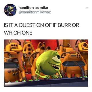 Image result for hamilton as mike