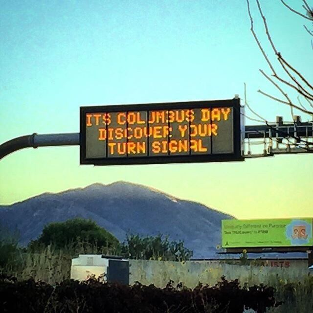 Local traffic sign getting a little snappy. http://ift.tt/2vM87Ej #lol #funny #rofl #memes #lmao #hilarious #cute