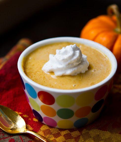 Vegan Pumpkin Pudding! Five Ingredients, Five Mins.