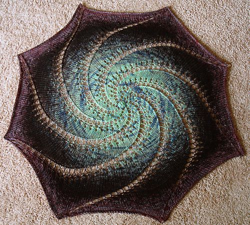Ravelry: Vortex Shawl pattern by Kristina McCurley