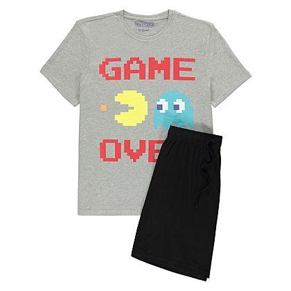 Pac-Man Pyjamas | Men | George