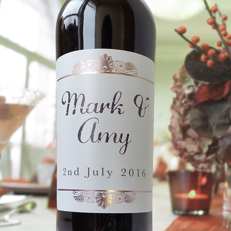 Low Cost Wedding Ideas Custom Wine Labels Alternative To Save Money On Your