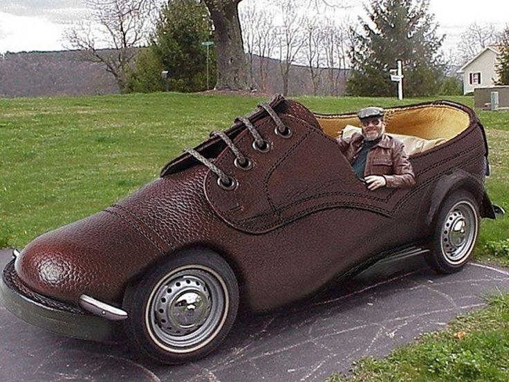 #Weird #Car Looks Like Shoe