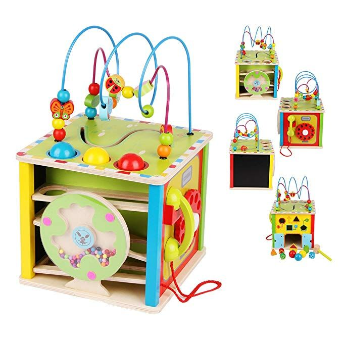 LEO & FRIENDS Large Activity Cube Toys Baby Educational ...