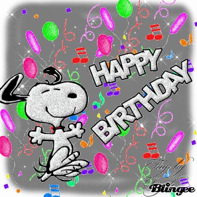 Happy Birthday Funny Snoopy