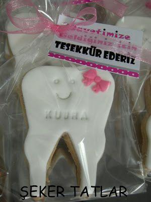 Diş Buğdayları için diş butik kurabiye...