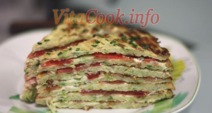 Ингредиенты для кабачкового торта: