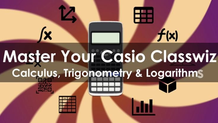 🌀Launch Weekend 66% off 24 Feb/25 Feb 2018 Only Promo - Get the course Master You #Casio #Classwiz - Calculus, Trigonometry and Logarithms for £9.99 (or equivalent) Click this link ➜ https://www.udemy.com/masteryourcasioclasswiz-a/?couponCode=LAUNCHWEEKEND