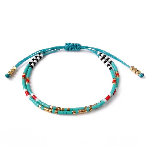 Bracelet turquoise Bracelet en perle de rocaille Bracelet