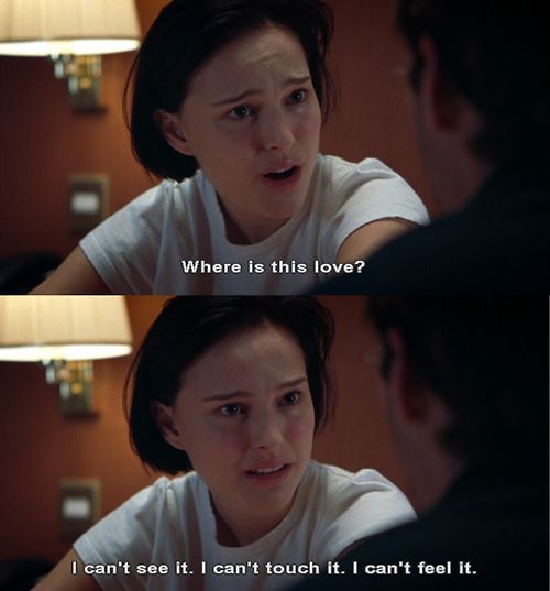 Alice: No one will ever love you as much as I do. Why isn't love enough? @ the movie Closer #Closer