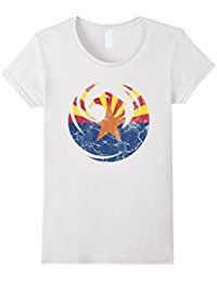 Vintage Fade Phoenix Arizona Flag T Shirt >>> Details can be found by clicking on the image.