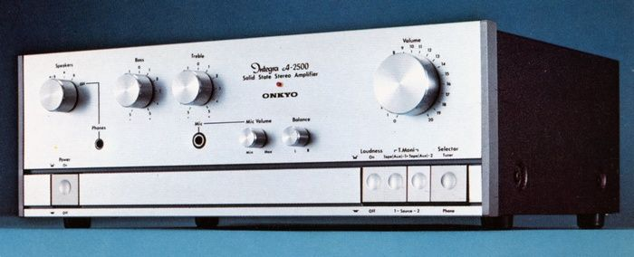 ONKYO Integra A-2500  1975
