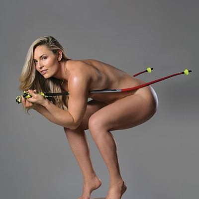 News: Lindsey Vonn Takes It All Off For New Book Trailer