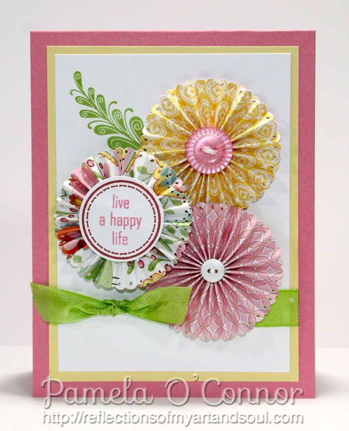 Amazing Card Making Ideas Close To My Heart Part - 7: CTMH Chantilly Meets Up With Mojo Monday #281