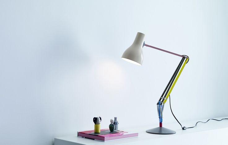 Paul Smith Anglepoise Type75'i Yorumladı #Dekorasyon Moda tasarımcısı Paul Smith ikonik lamba markası Anglepoise için Type75 masa lambasının ... http://www.stilveyasam.com/2014/09/04/paul-smith-anglepoise-type75i-yorumladi/