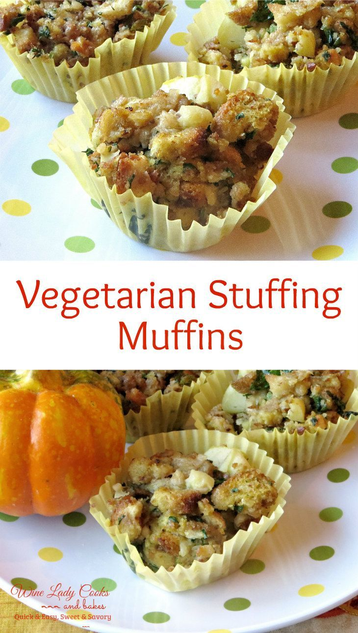 Vegetarian Stuffing Muffins Easy To Make For Thanksgiving