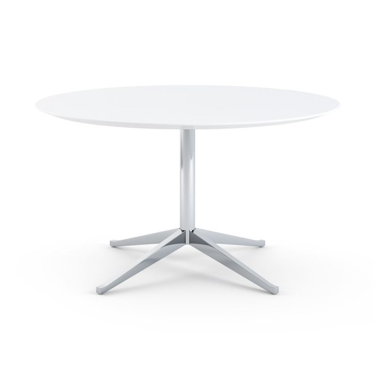 Florence Knoll Table Desk - Round | Knoll