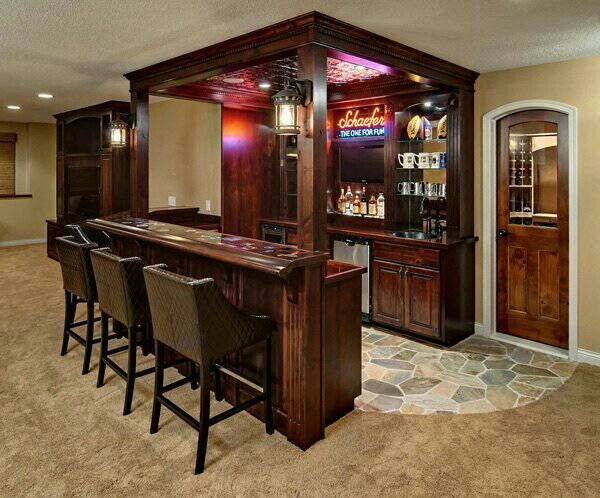 Found My Dream Bar! Home Bar Design Ideas, Furniture And Decorative  Accessories. Basement Bars ...
