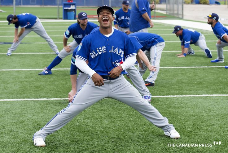 Marcus Stroman is all smiles at spring training