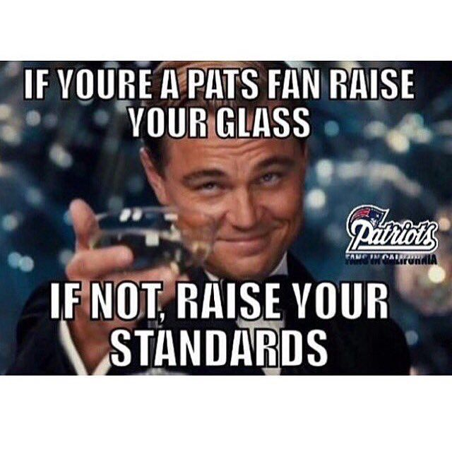 Leo tells it how it is..GO PATS!!
