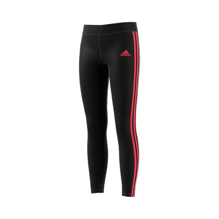 Warm up, cool down and do everything in between in these junior girls' training tights. Sweat-wicking fabric keeps you dry and comfortable, and flatlock seams sit smoothly on the skin to reduce chafing.