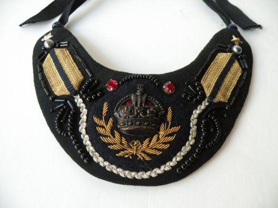 De verklaring van de Vintage ketting kraag. Gouden door jennieshox