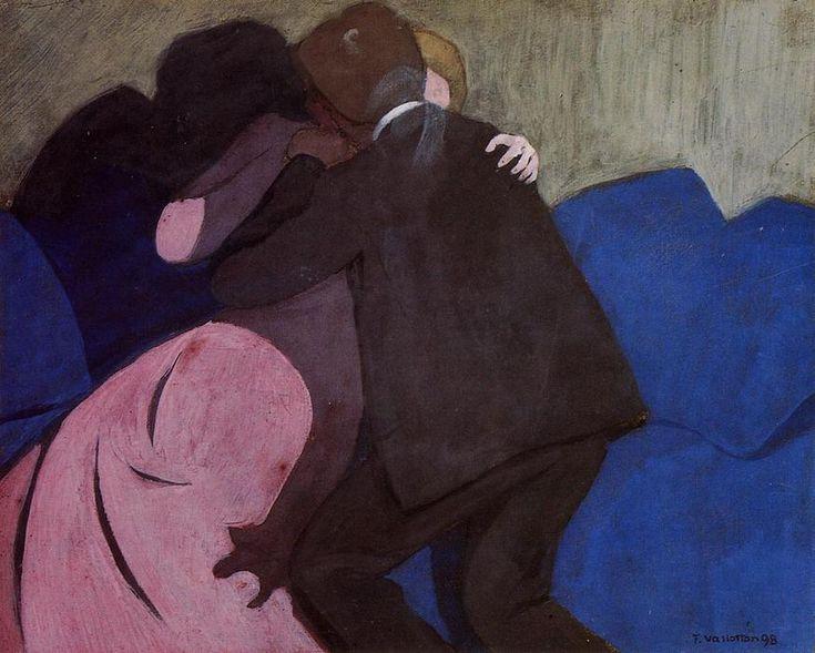 Felix Vallotton - The Kiss
