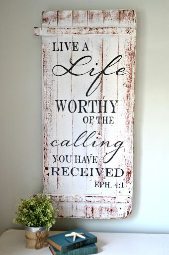 Painted wooden sign | Search Results | My Pink Life
