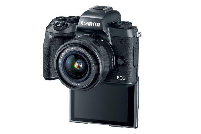 EOS M5 EF-M 15-45mm f/3.5-6.3 IS STM Lens Kit   Canon Online Store