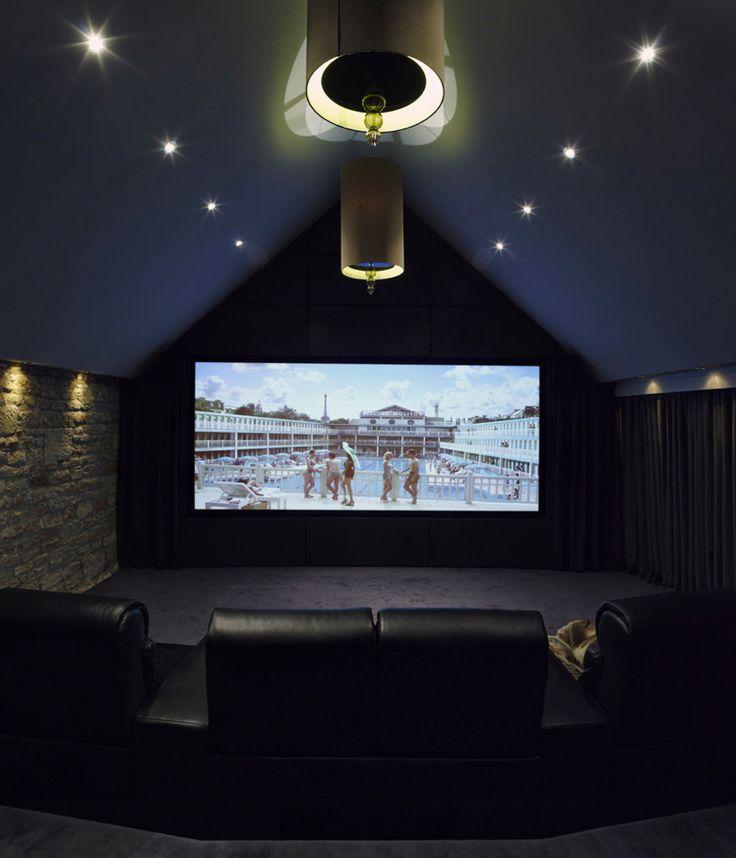 The 25+ best Attic movie rooms ideas on Pinterest | Attic theater ...