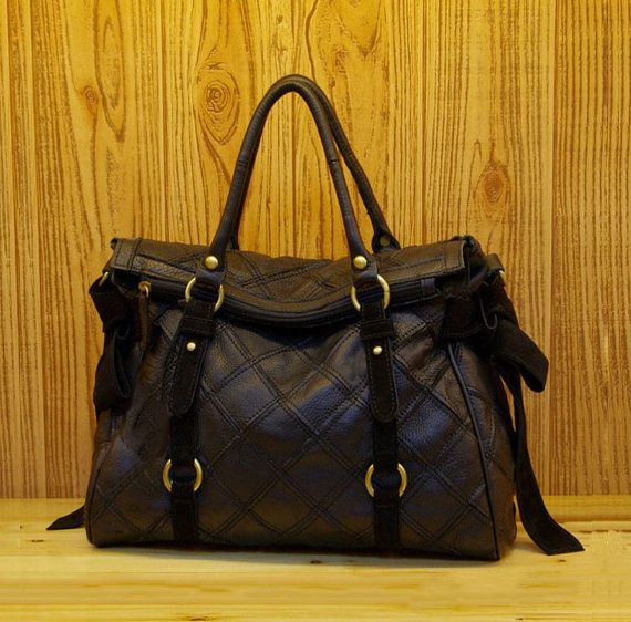 7 best Italian Leather Black Tote Bags images on Pinterest ...