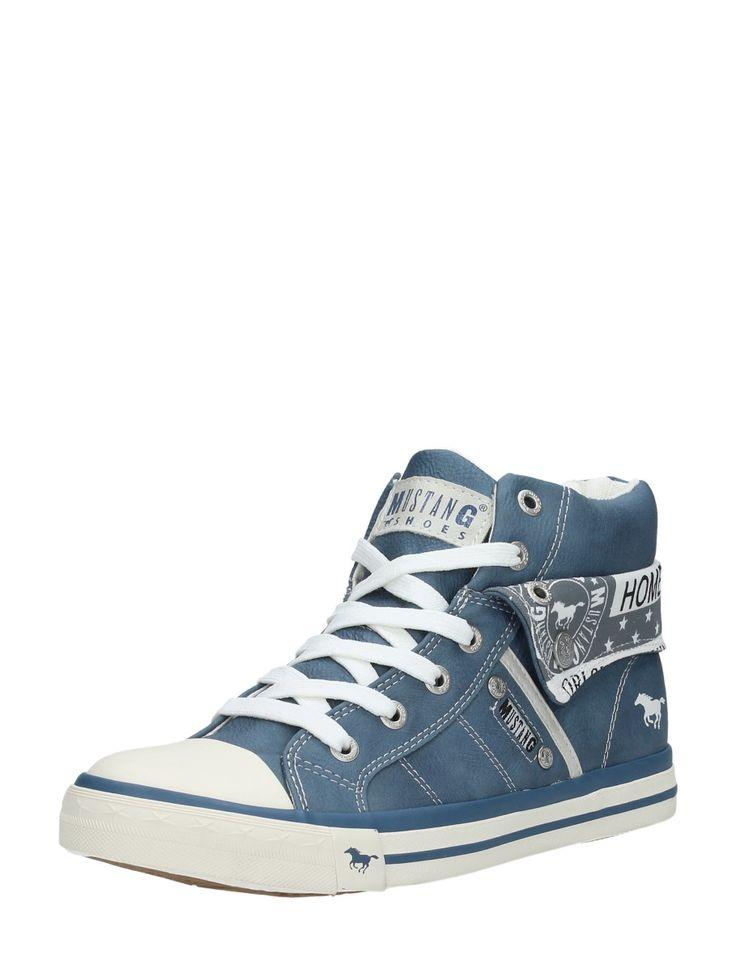 Hippe Mustang blauwe dames sneakers (Meerdere kleuren) Volwassenen sneakers  van het merk Mustang.