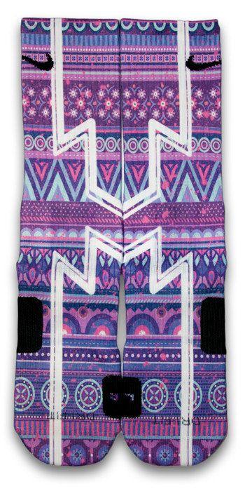 Zoom Custom Elite Socks by CustomizeEliteSocks on Etsy, $34.99