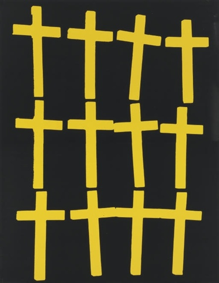 crosses by Andy Warhol