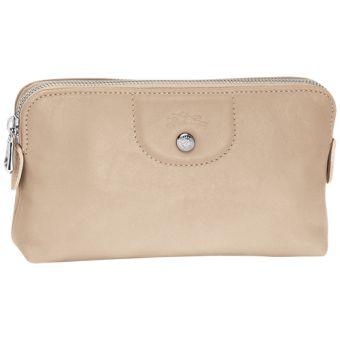 Le Pliage Cuir Pouch 4549737 - Clutch Bags - Handbags - Categories - Women's Collection - Longchamp | Hunt Leather