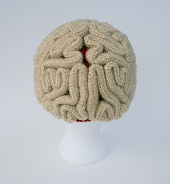 Crochet Patterns And Instructions : The Brain Beanie Crochet Pattern Instructions