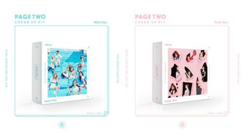 TWICE / PAGE TWO (2ND MINI ALBUM) ※ランダム発送 [TWICE] - 韓国音楽専門ソウルライフレコード