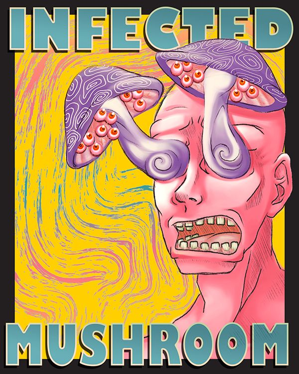 Infected Mushroom Psychedelic Poster Assignment on Behance