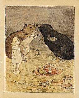 Elsa Beskow, Tummelisa.  Original illustrations,1908.