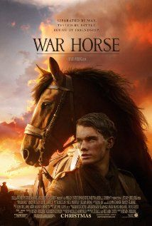"""""""War Horse"""" (dir. Steven Speilberg, 2011) --- Young Albert (Jeremy Irvine) enlists to serve in World War I after his beloved horse is sold to the cavalry. Albert's hopeful journey takes him out of England and across Europe as the war rages on. Also starring Benedict Cumberbatch."""