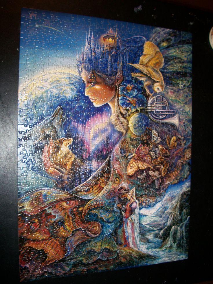 Fantasy Jigsaw Puzzle Puzzles Pinterest Josephine Wall