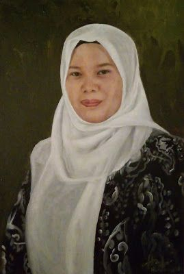 Filani Art: Portrait painting of my sister