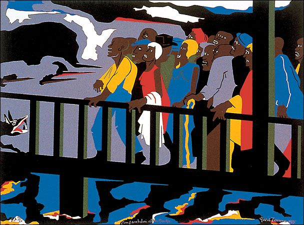 Jacob Lawrence Migration Series