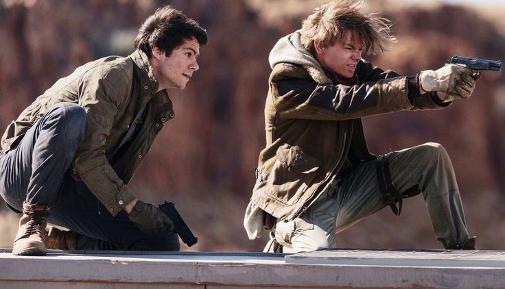 NEW PICS FOR THE DEATH CURE