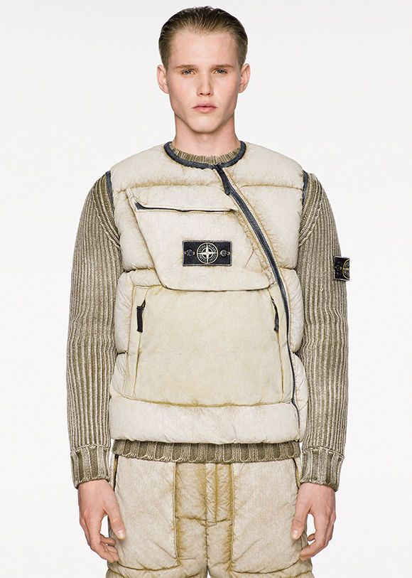 Stone Island Frost Finish | Official Store